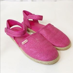 Cienta Pink Sparkly Maryjane 34C 3 Shoes